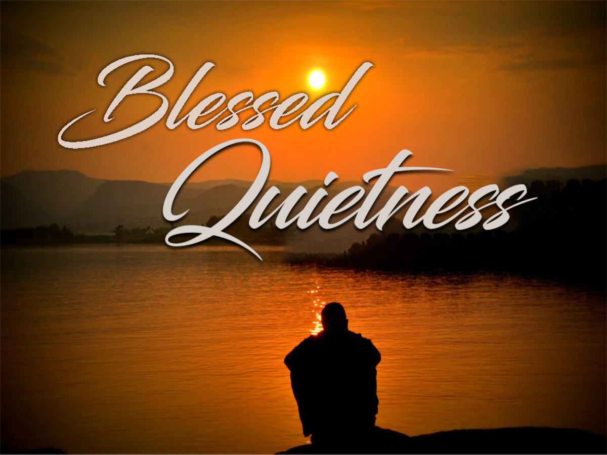 Blessed Quietness, Holy Quietness, Blessed Assurance In My Soul
