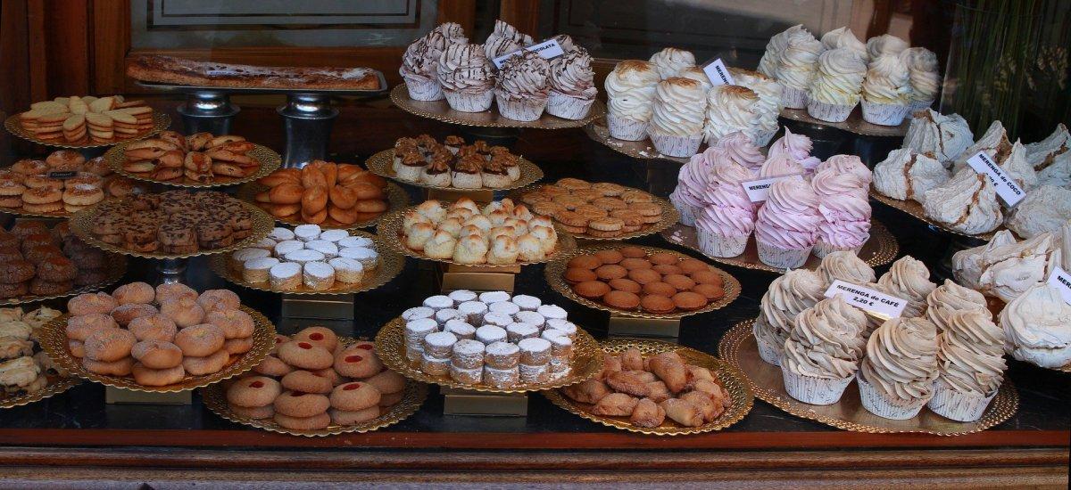 Pastry Shop window