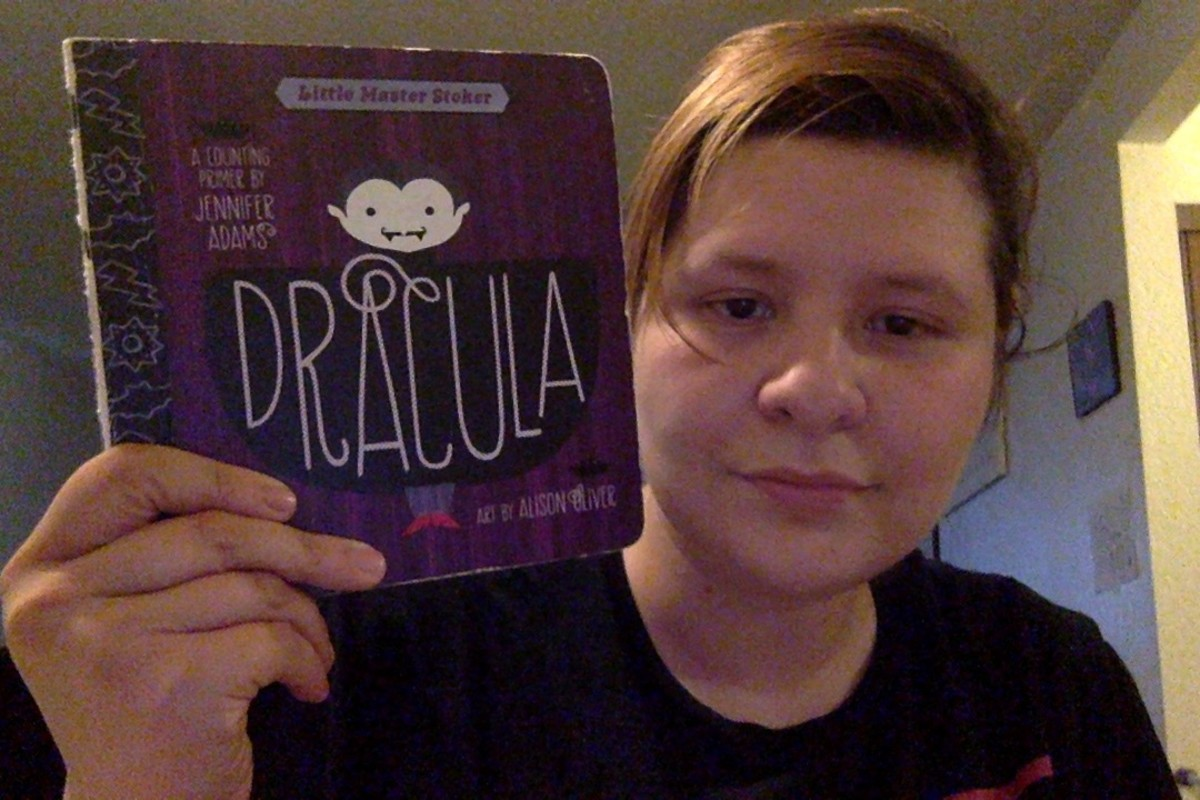 Dracula: A BabyLit Counting Primer by Jennifer Adams and Alison Oliver