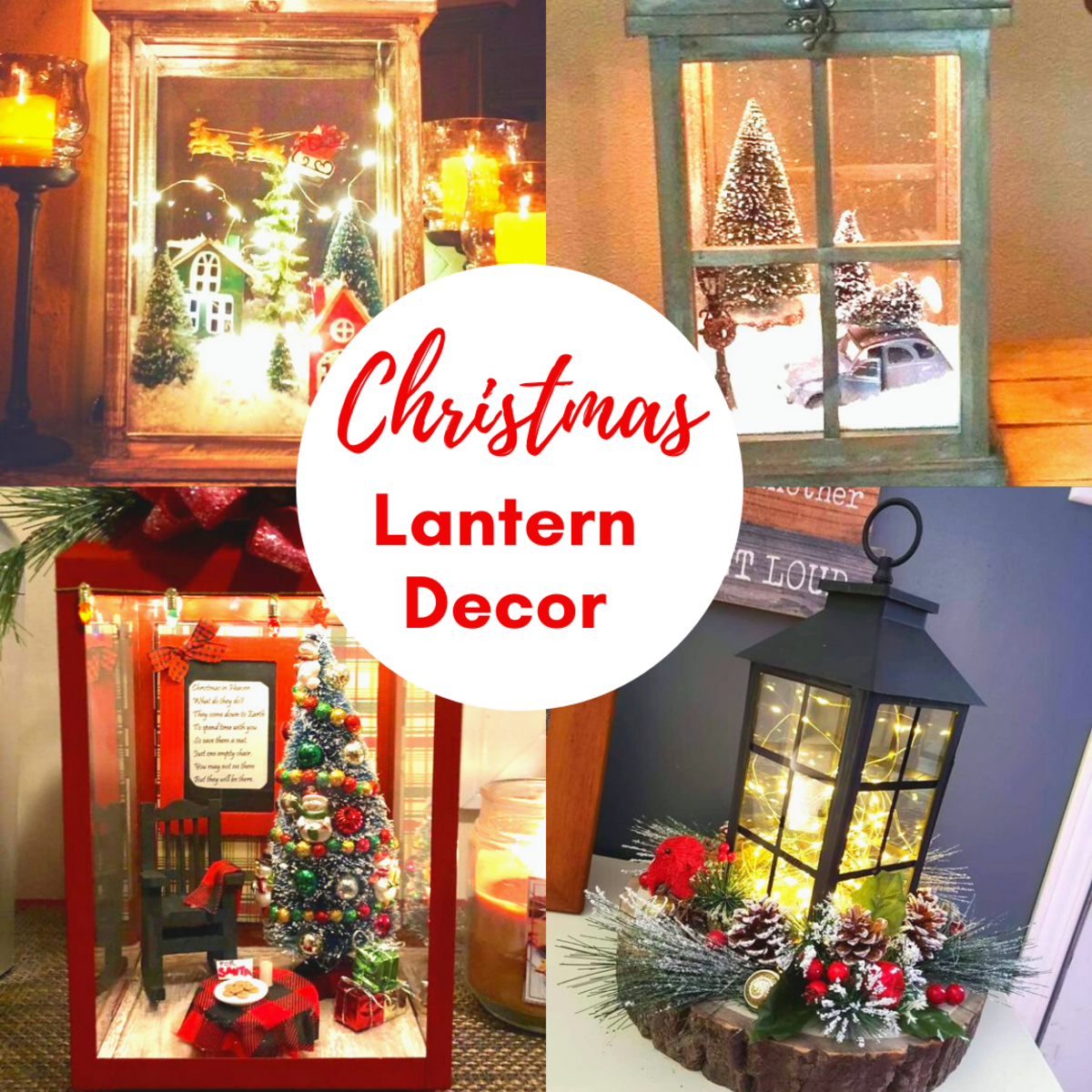 Christmas Lantern Decor Ideas