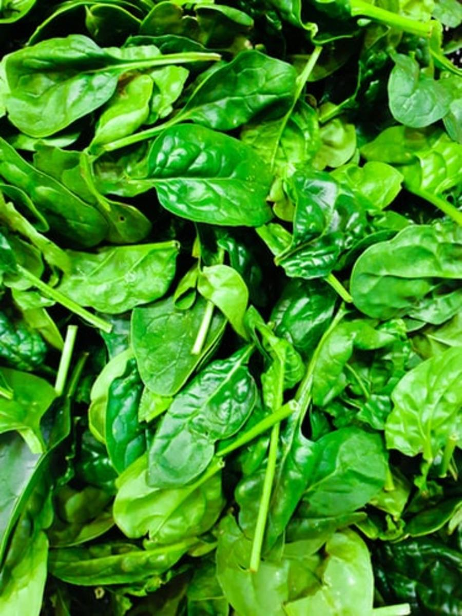 Spinach - an Excellent Hair Growing Vegetable