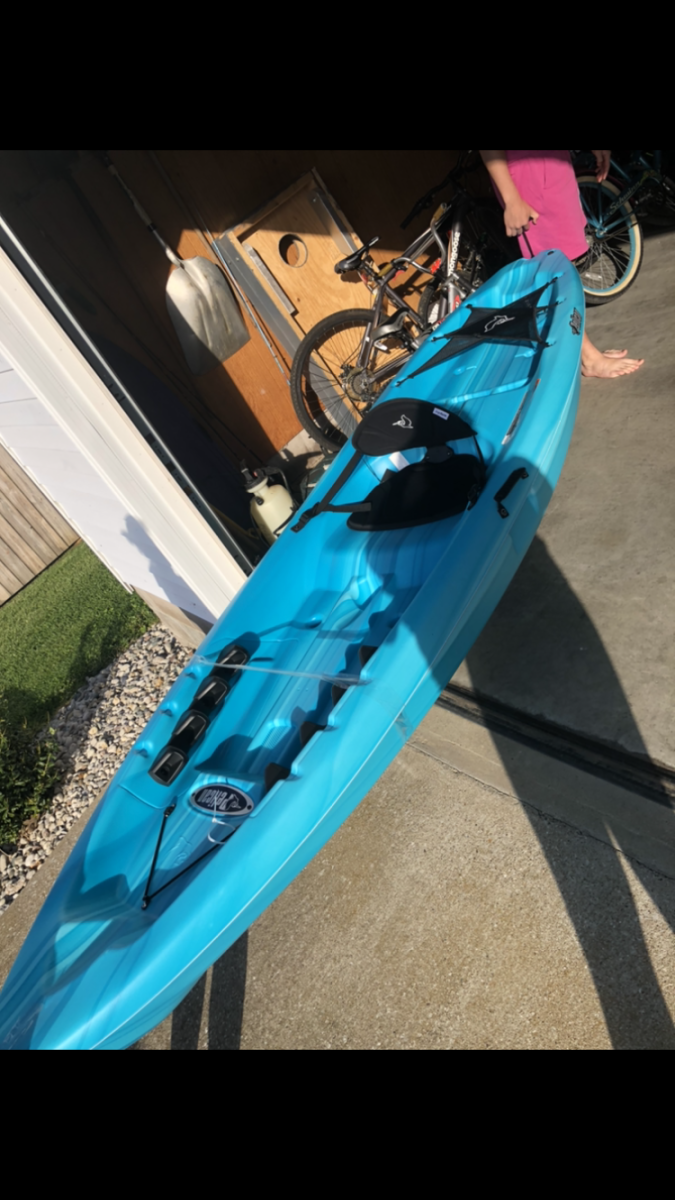 My very first kayak!