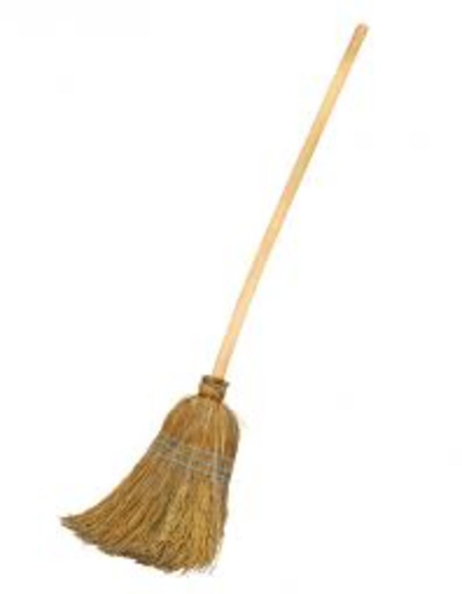 Typical Straw Broom