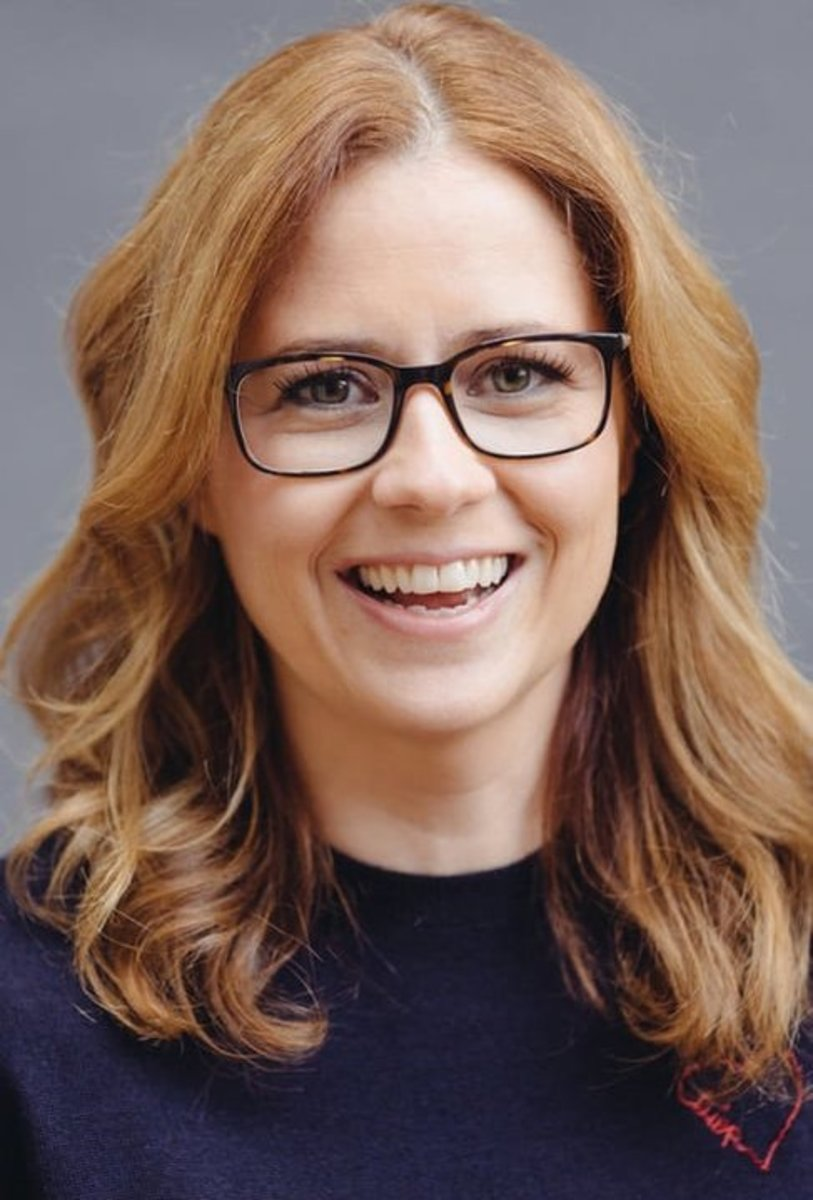 Jenna Fischer, the book's author