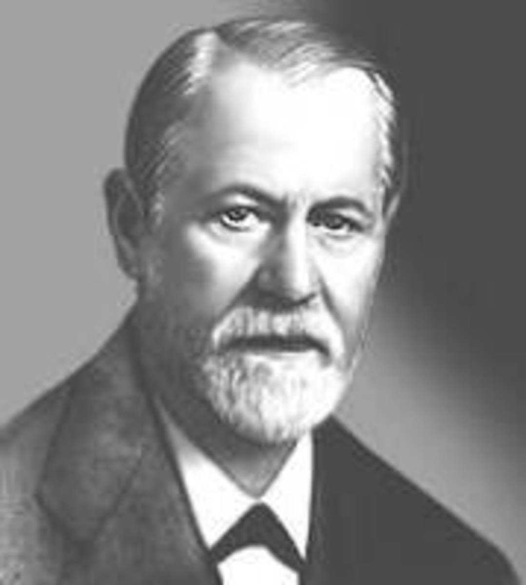 Sigmund Freud, psychoanalyst (1856-1939)