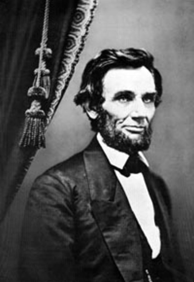 President-elect Lincoln as he appeared in 1861.