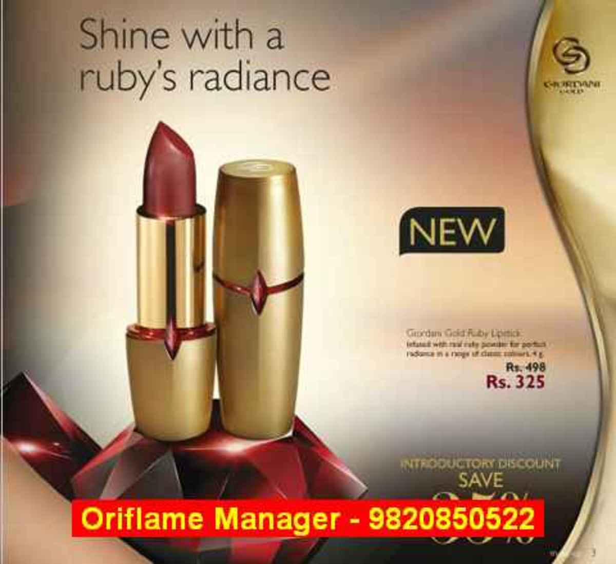 Oriflame Membership Fee and Benefits