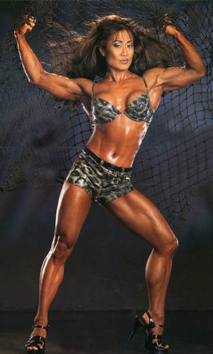 Dale Tomita - Asian Female Fitness Models