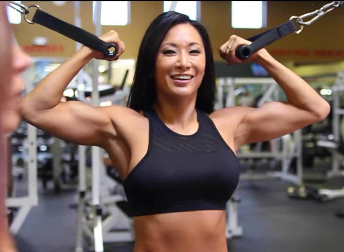 TNA Knockout Gail Kim - Fitness