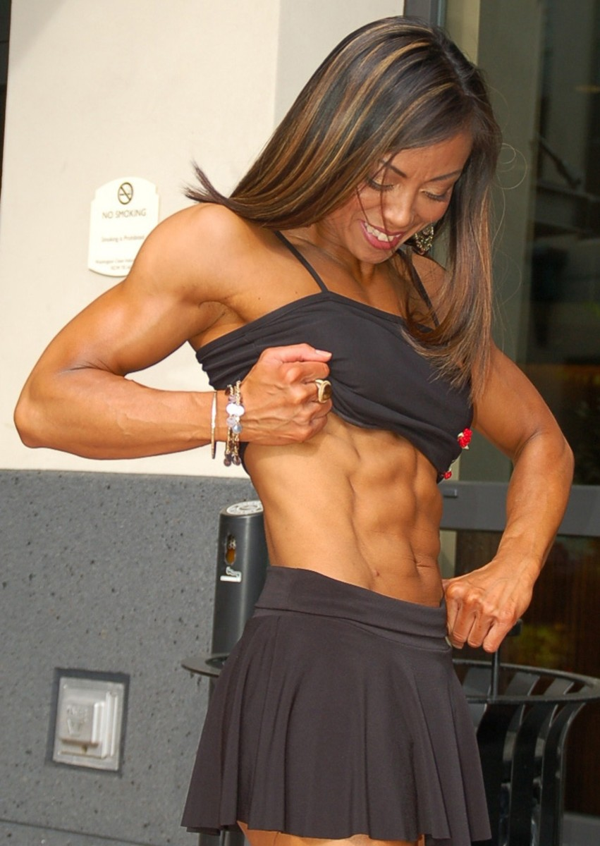 Rose Hendricks - Asian Fitness Competitors