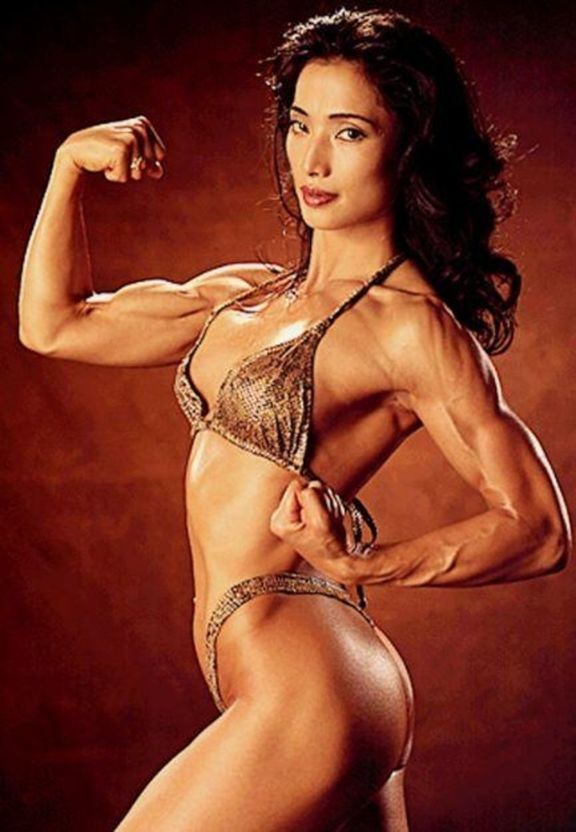 Michiko Nishiwaki  - Asian Fitness Models
