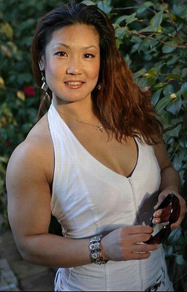 Xin Li Cao - Asian Female Bodybuilders (FTV Video)