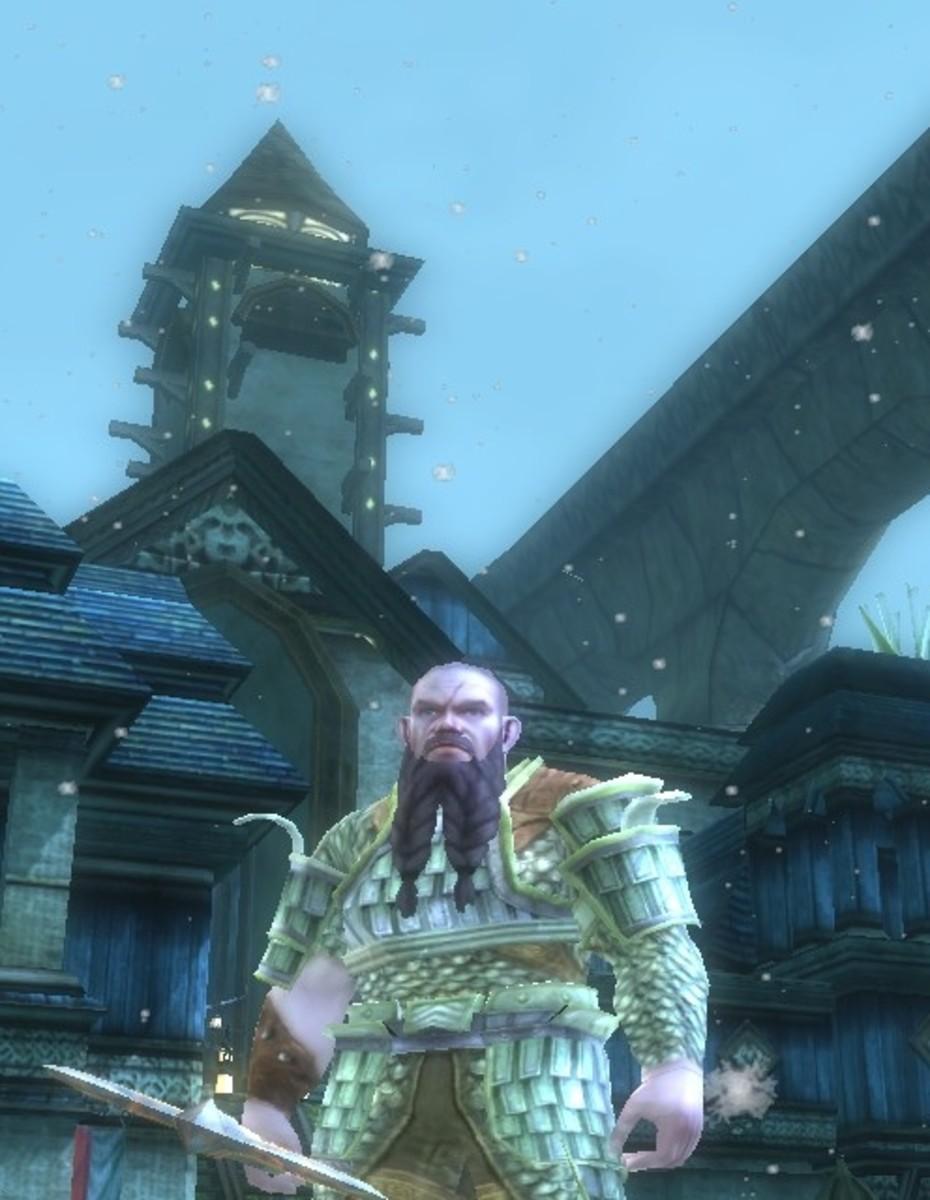 Dungeonraider, as a dwarf barbarian.
