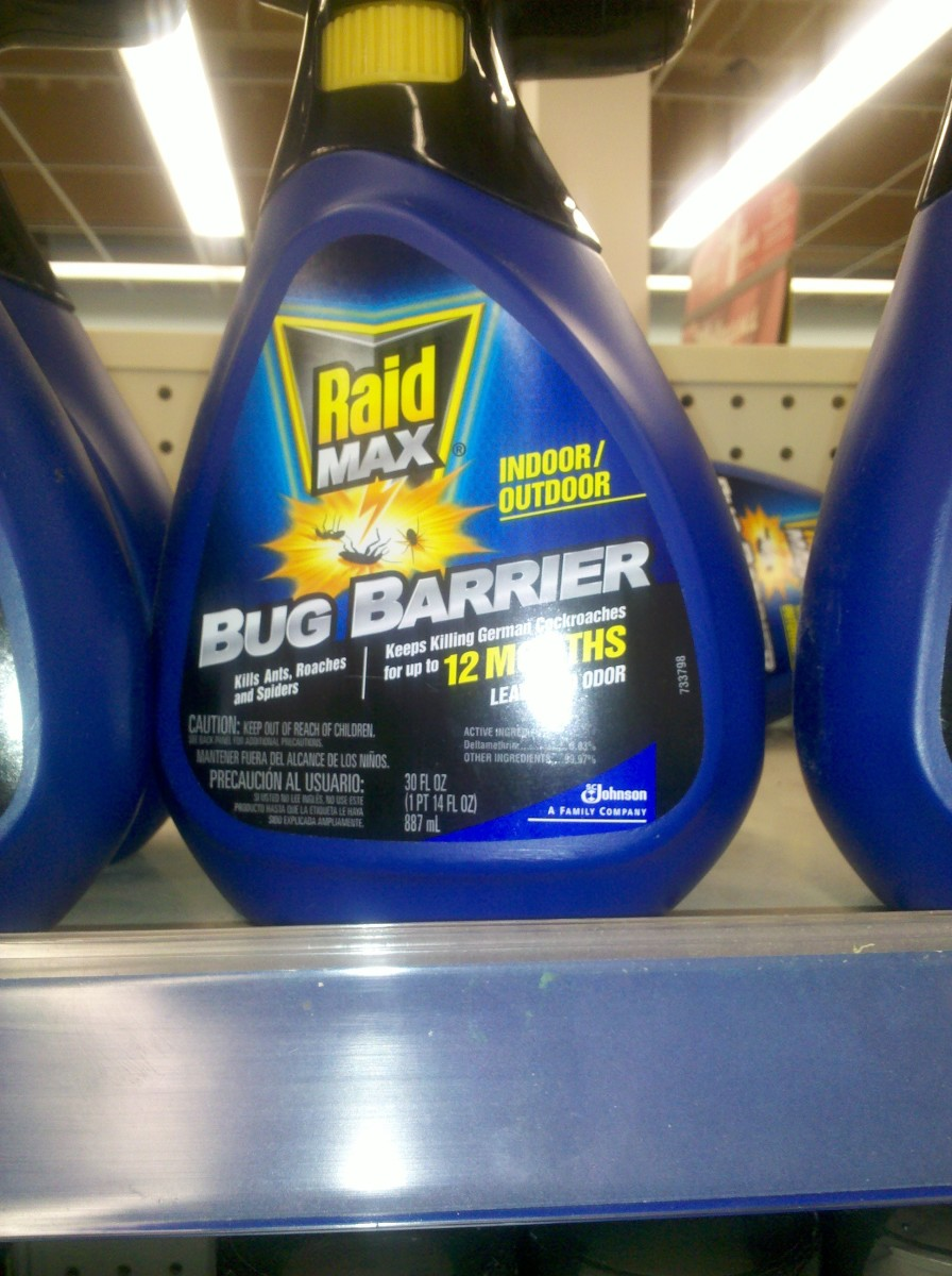 "Black Flag ""bug barrier"" persistent spray (c) 2011 kschang, taken at Walgreens"