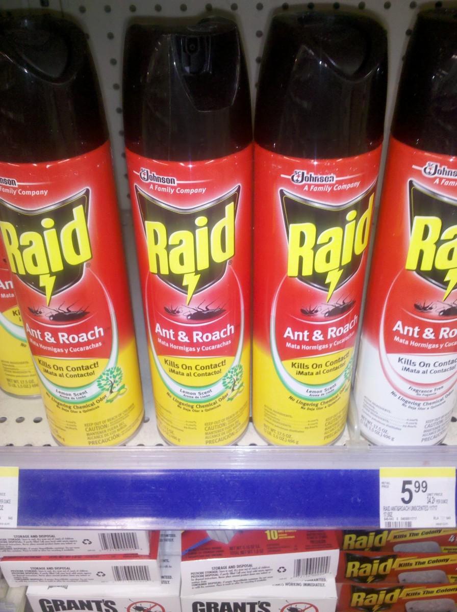Raid contact bug spray, with some residual capabilities. (c) 2011 kschang, taken at Walgreens