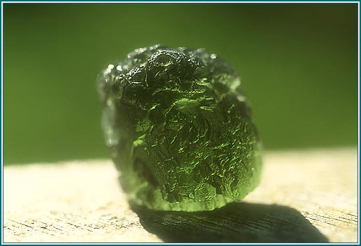 Moldavite is said to have been formed by a meteor from outer space. It has numerous healing qualities for autism