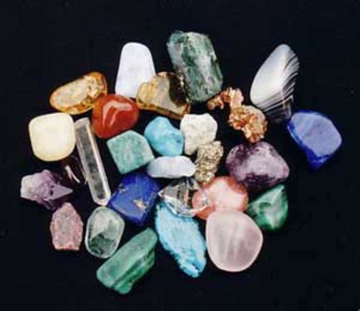 Crystals can be used to ease the traits of autism and Asperger's syndrome