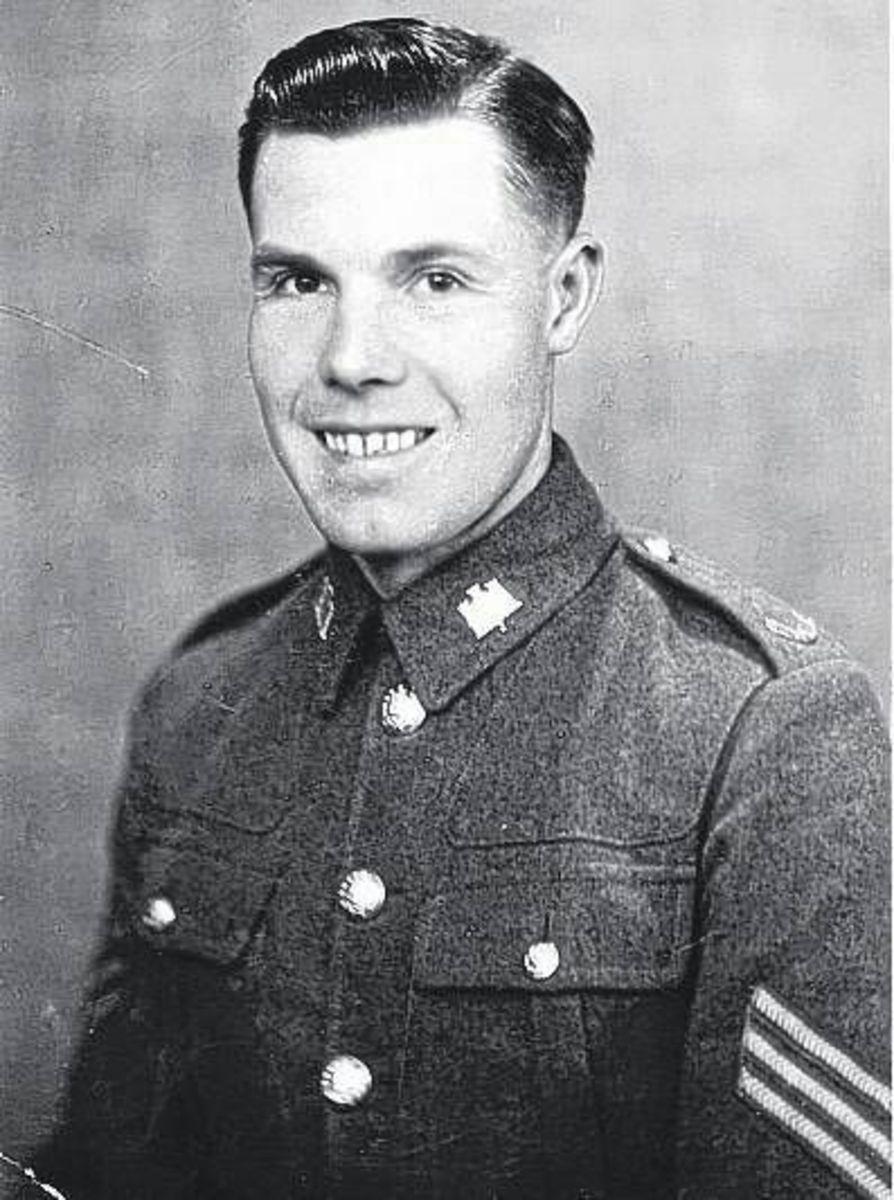 Arthur Langran as a young man