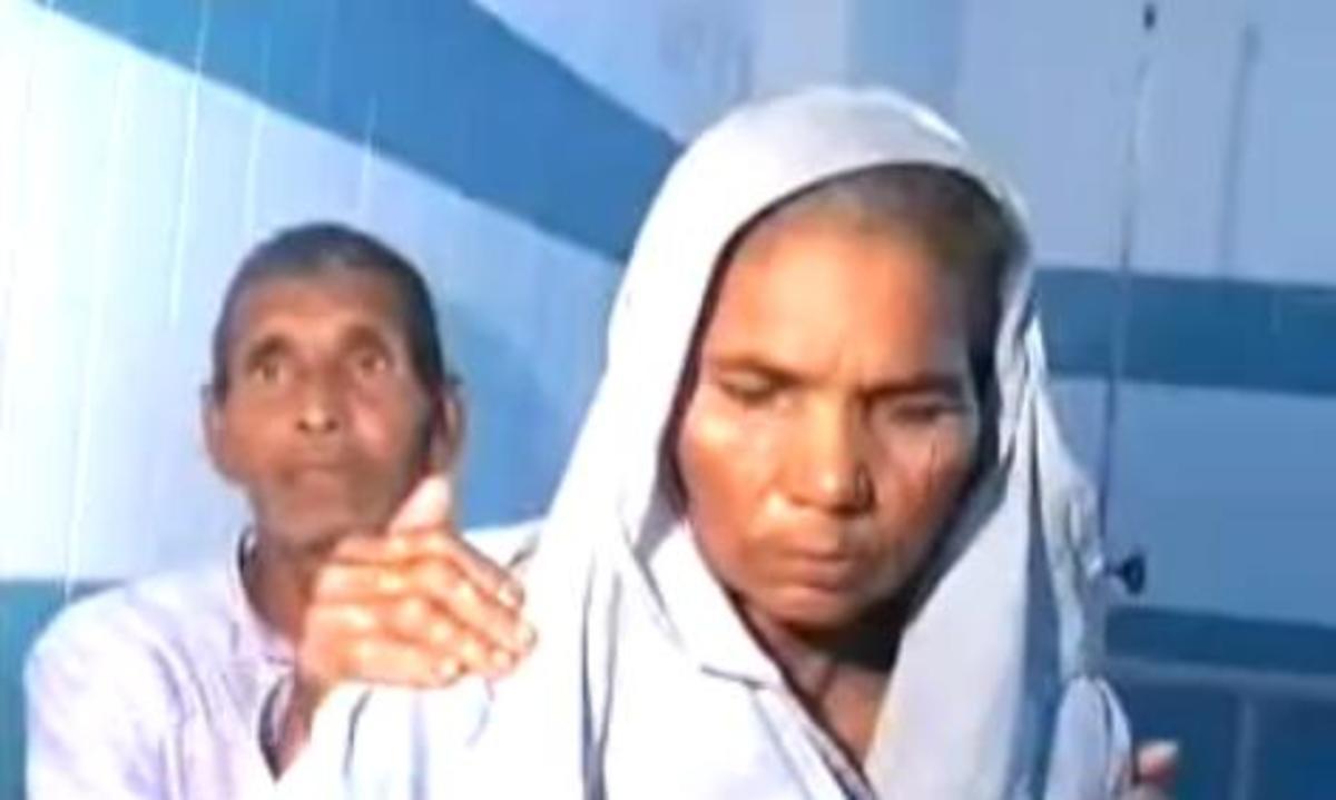 Omkari Panwar and her husband