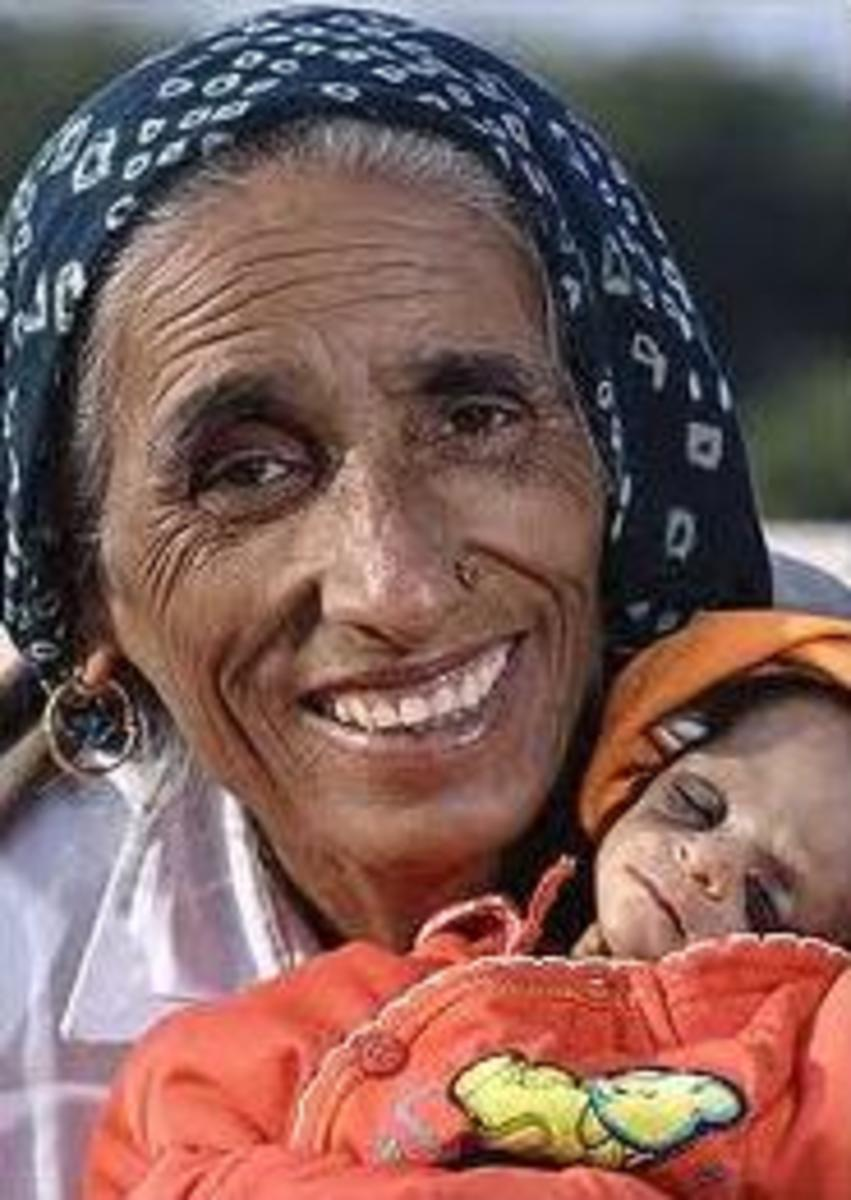 Oldest Mother in the World