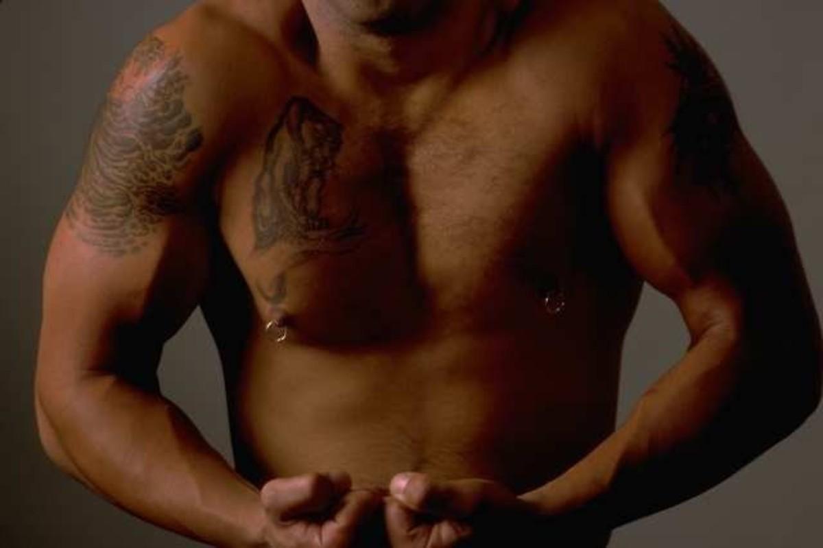 Put your shirt on!