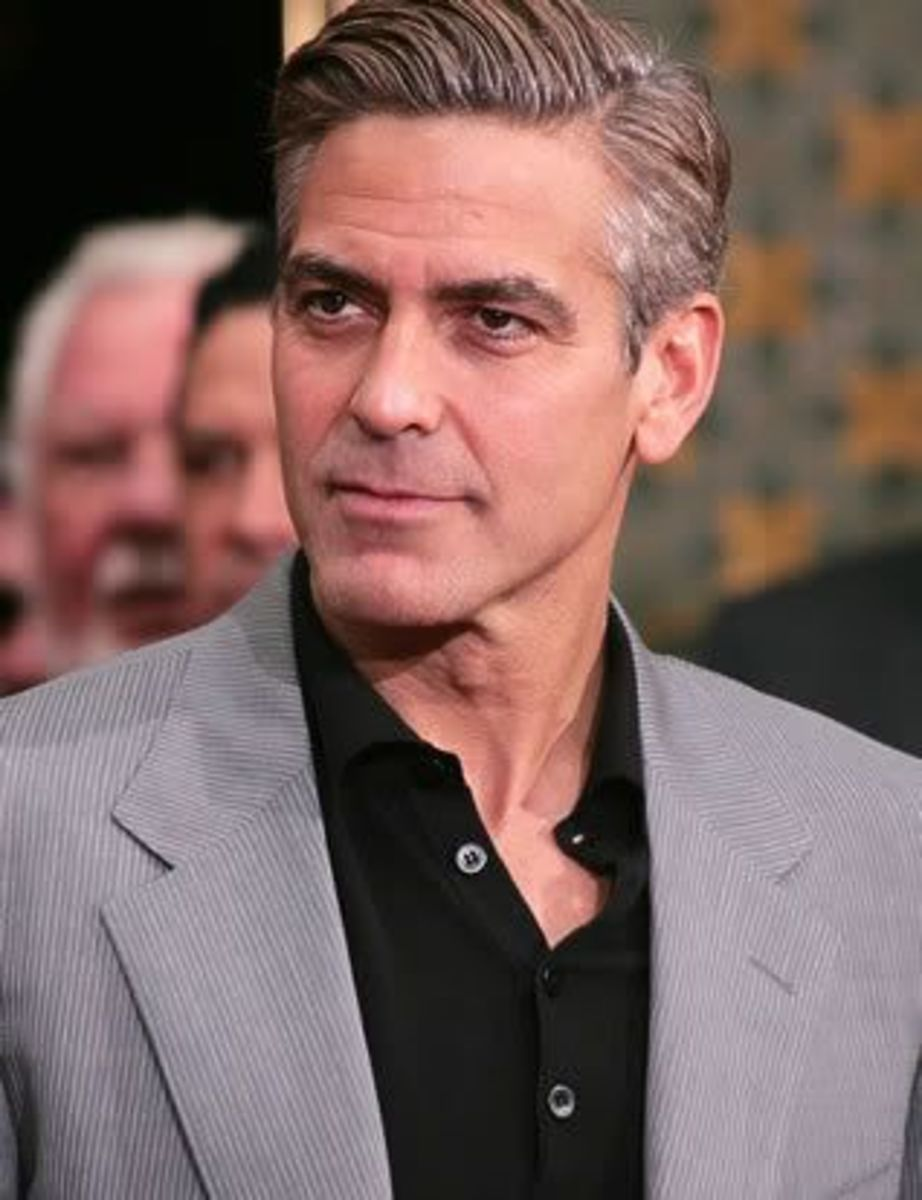 George Clooney was one of the most generous celebrities of 2012 in regard to contributing to charities.