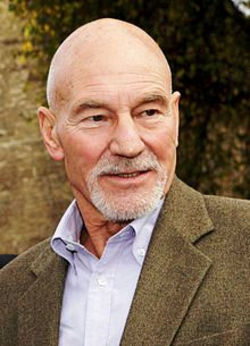 Old, Bald and Extremely Good Looking Patrick Stewart