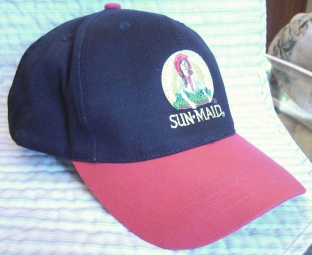 Sun-Maid baseball cap