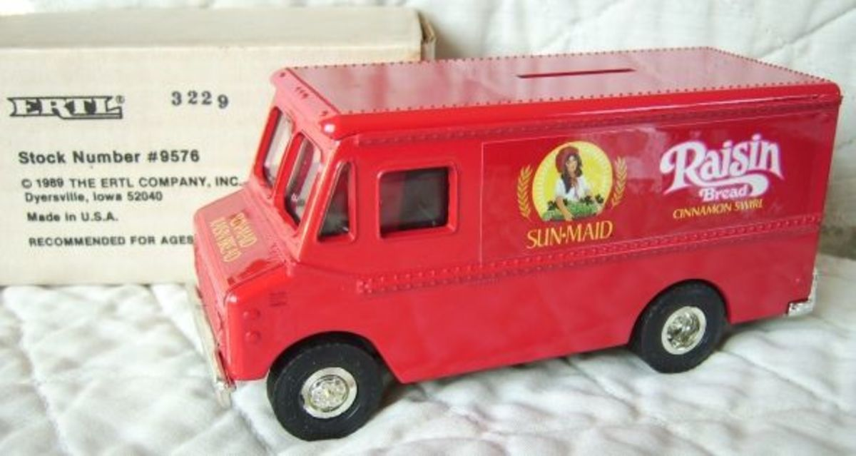 1989 Sun-Maid Bread Truck