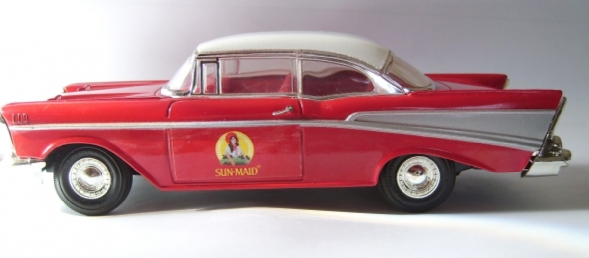 1957 Chevy Sun-Maid car