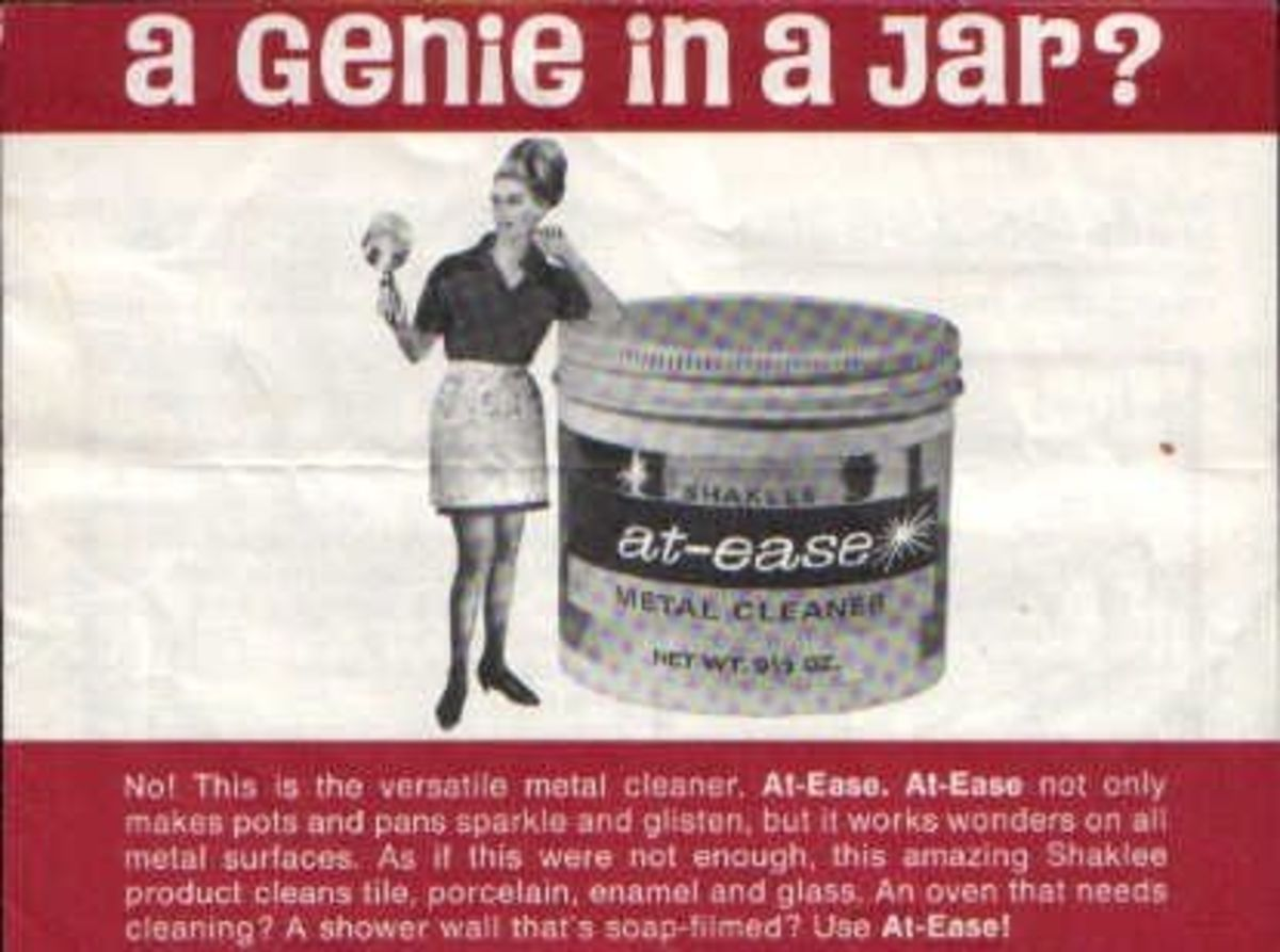 When I worked for Shaklee, a cleaning product...a Genie? 1966-67 Hayward, California