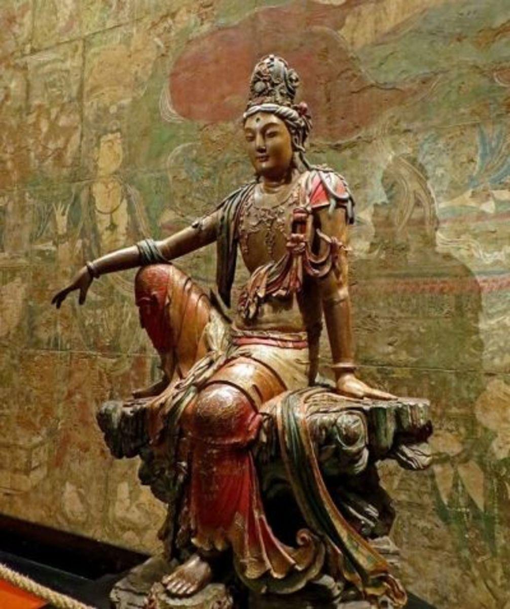 Kuan Yin by gmeador