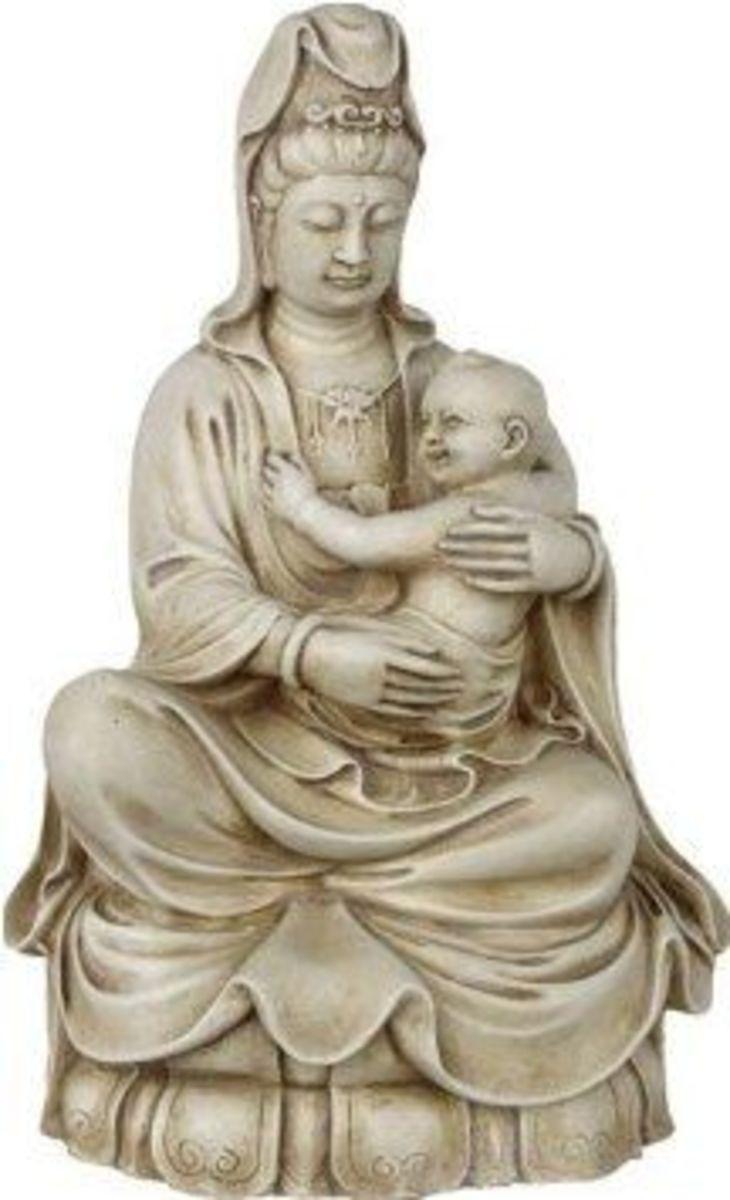 Kuan Yin with Baby