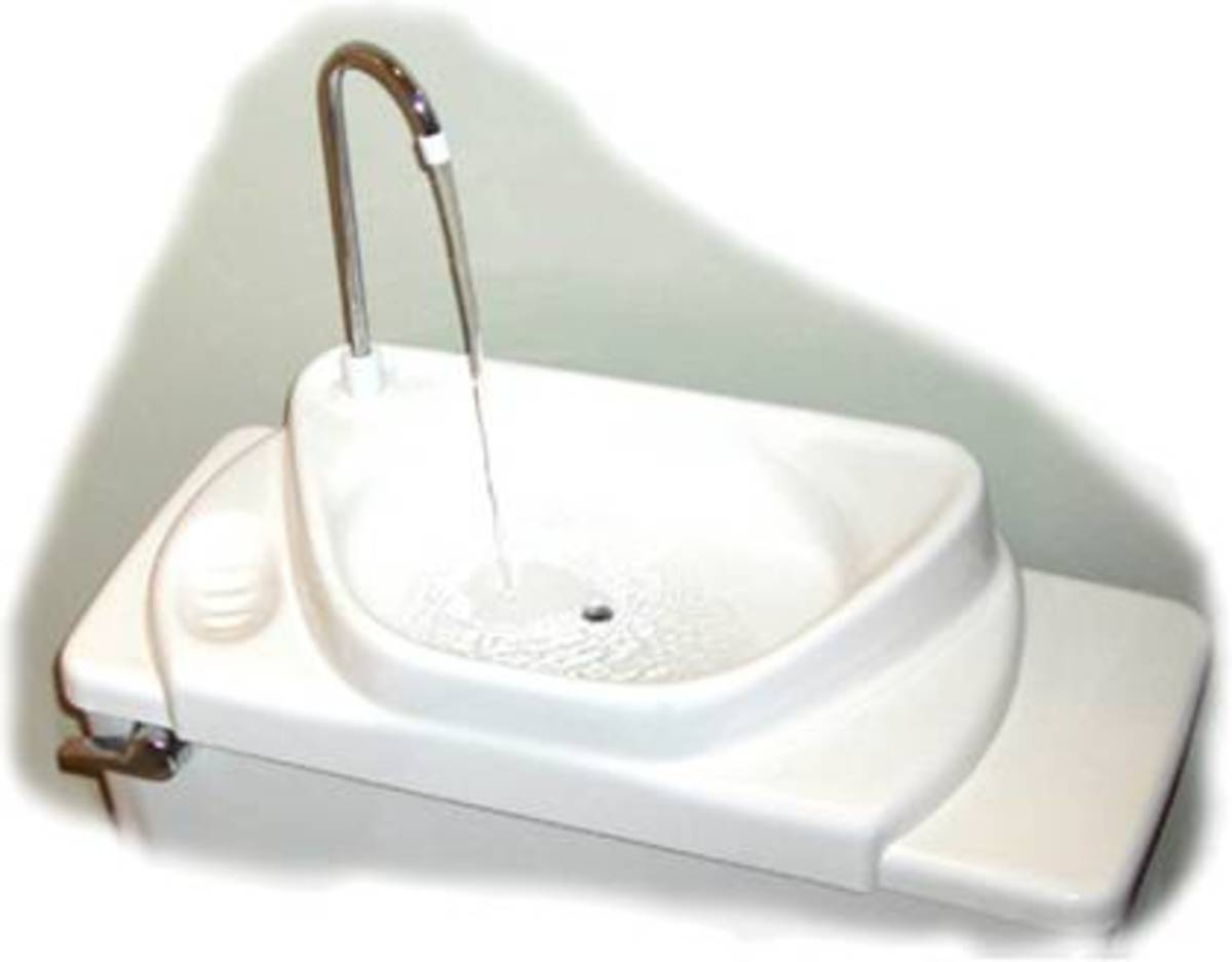 Saving Water With The Toilet Sink Combo Hubpages