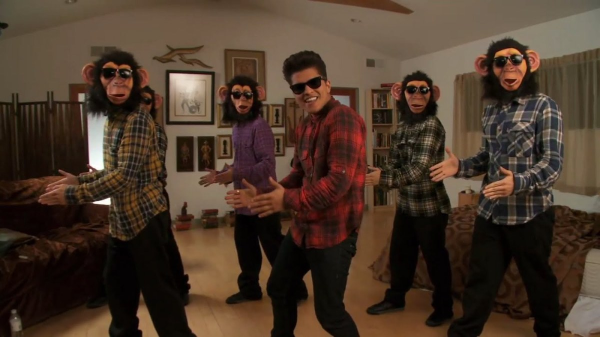 Bruno mars and his gang performs this dance on the music video of The Lazy Song.