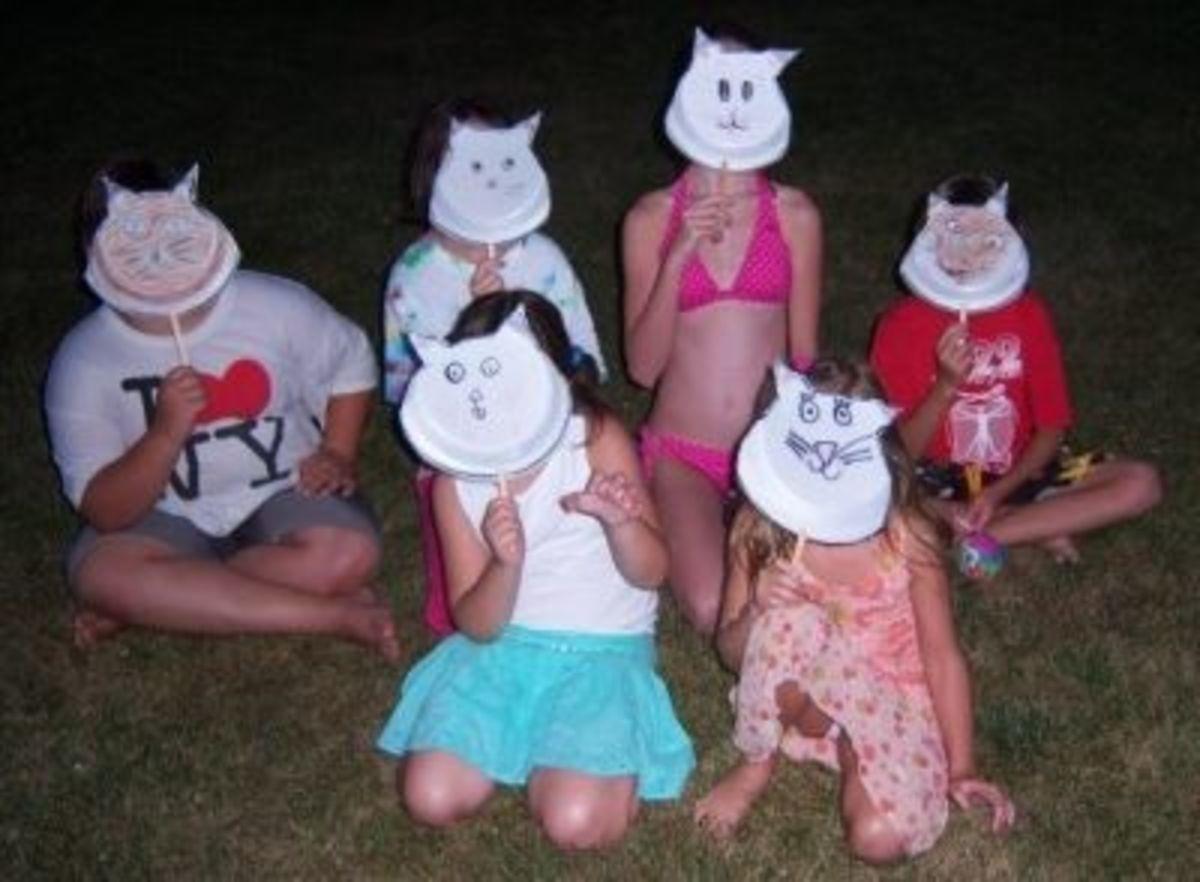 Cat Face Group Shot