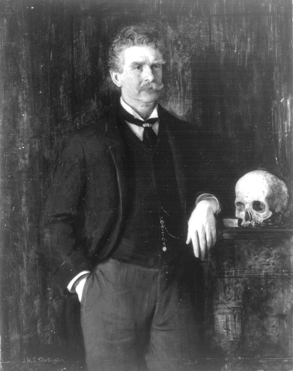 Potrait painted by J. H. E. Partington