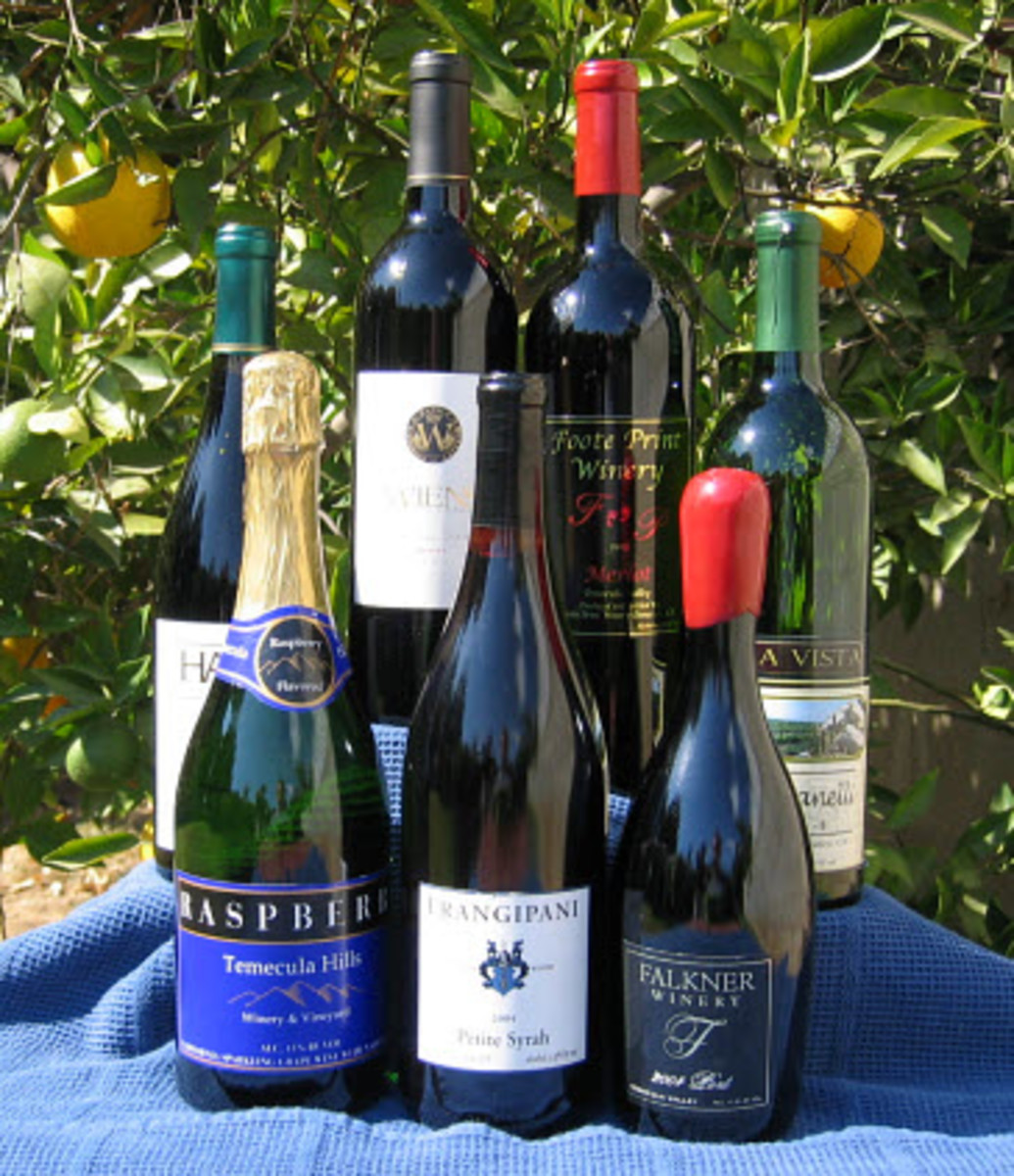 Temecula Wines in the California Sun