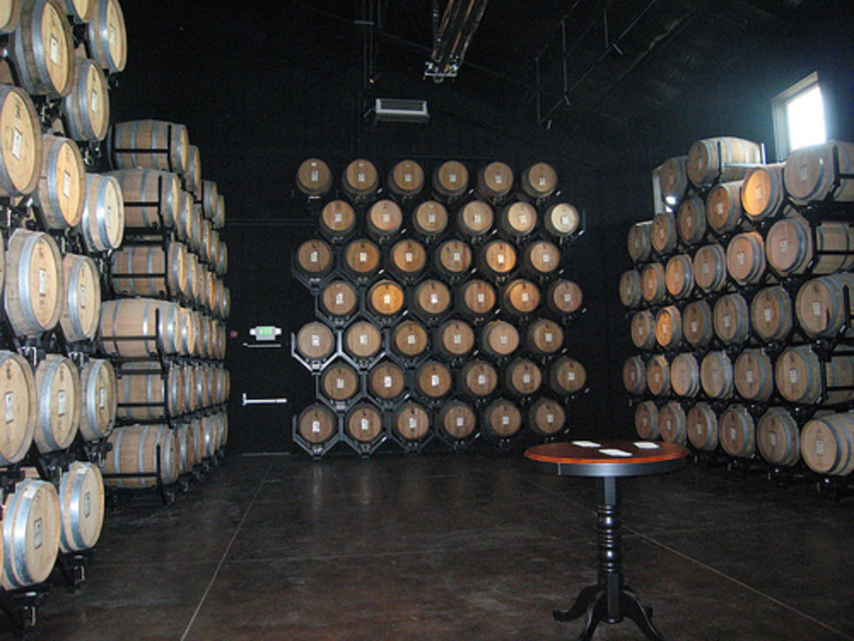 The Barrel Room at Wiens