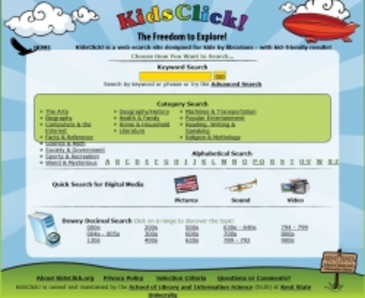 KidsClick Search Engine for Kids