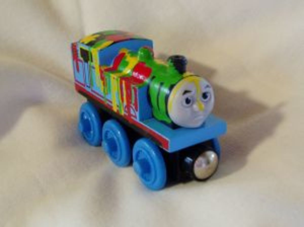Paint Splatter Thomas