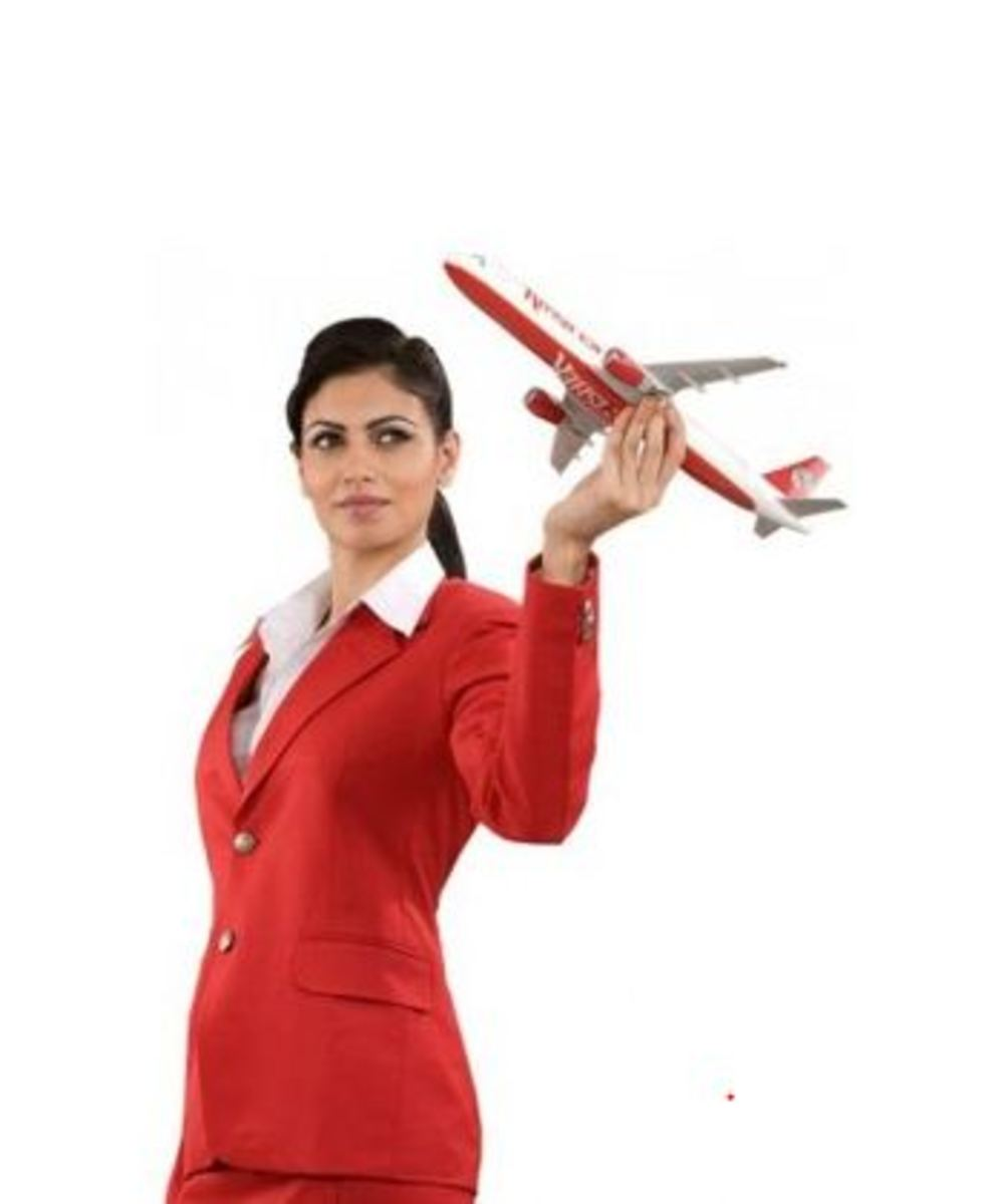 Air Hostess Training Institute Advertisement