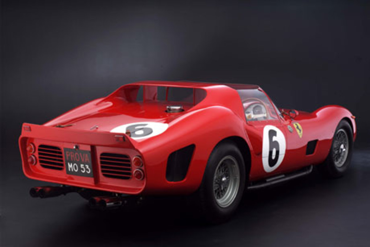3 - 1962 Ferrari 330 TRI/LM Testa Rossa - $9.2 million