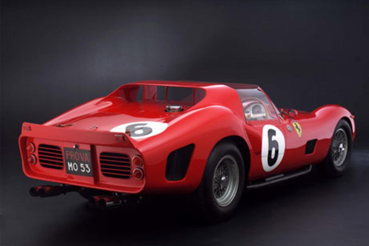 3 - 1962 Ferrari 330 TRI/LM Testa Rossa - $9.2 million