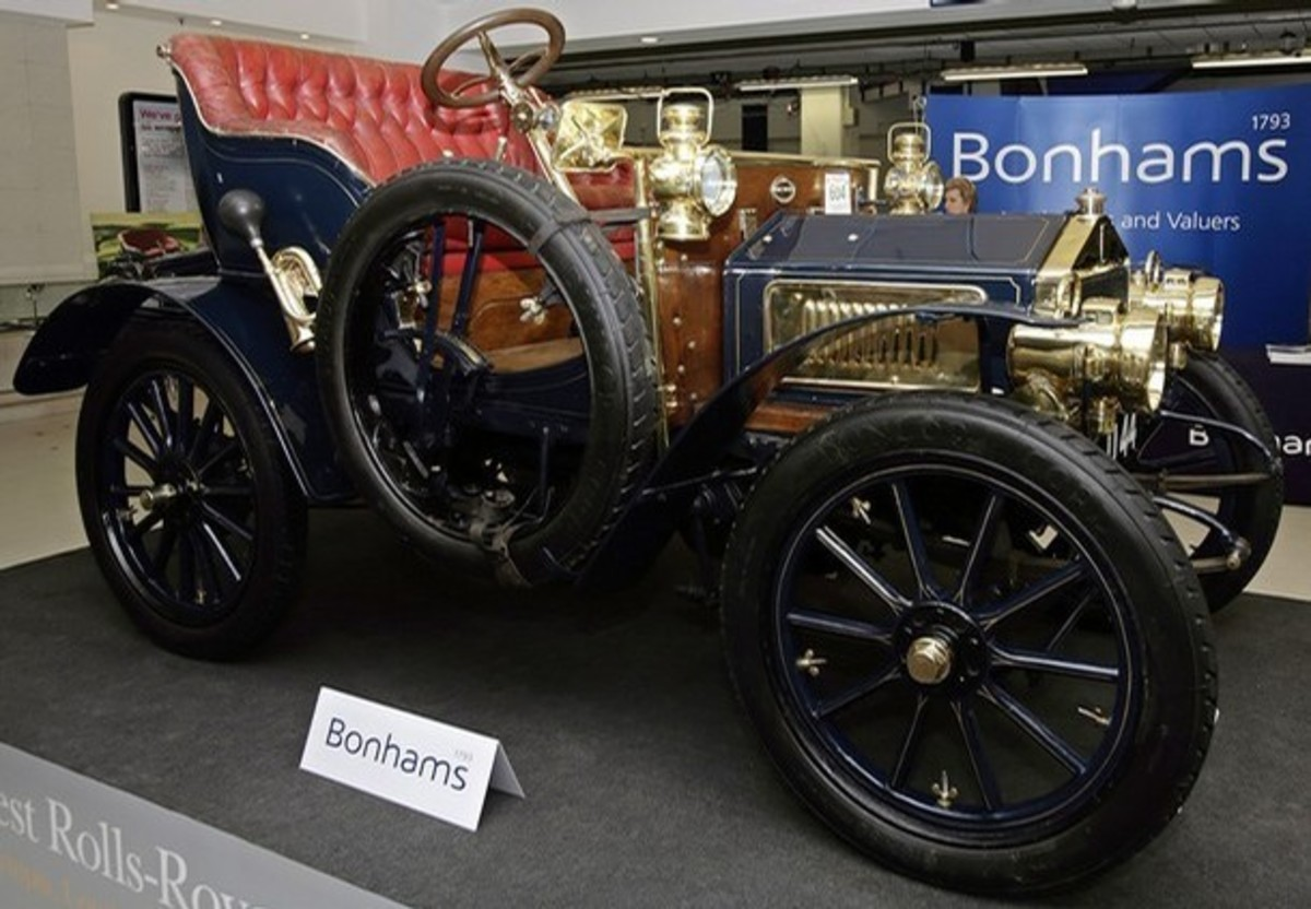 6 - Rolls-Royce 10hp Two-Seater - $7.25 million