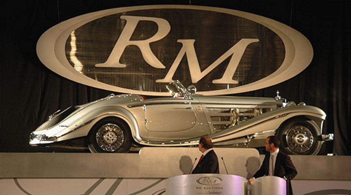 4 - 1937 Mercedes-Benz 540K Special Roadster - $8.2 million