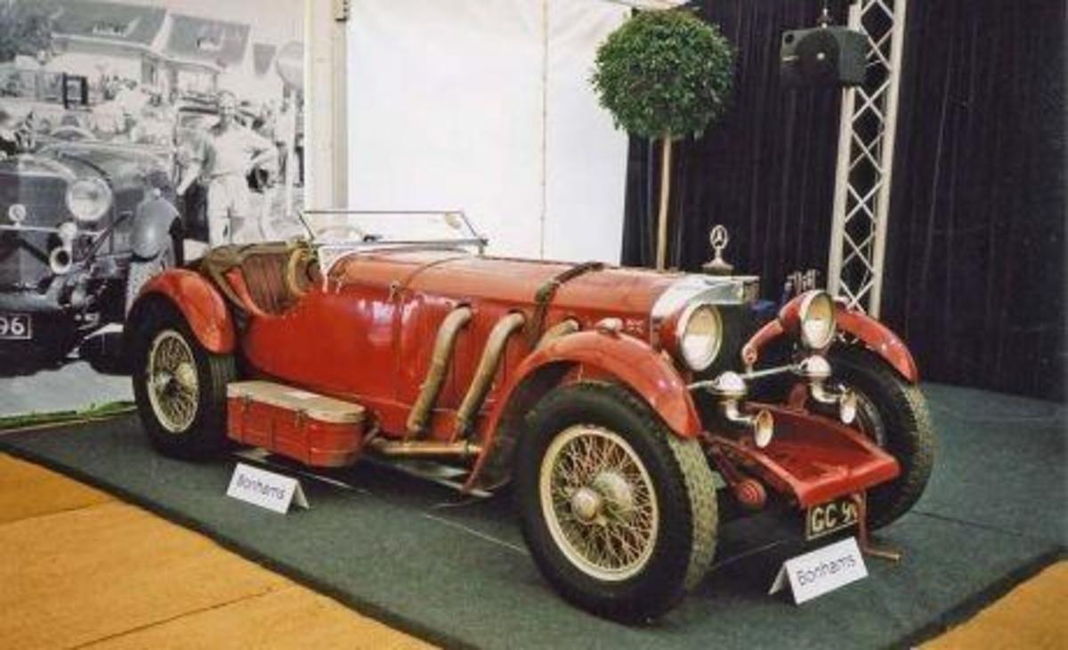 5 - 1929 Mercedes-Benz 38/250 SSK - $7.4 million
