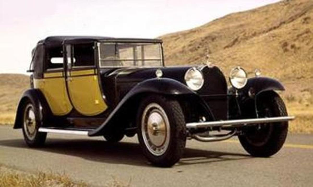 7 - 1931 Bugatti Royale Berline de Voyager - $6.5 million