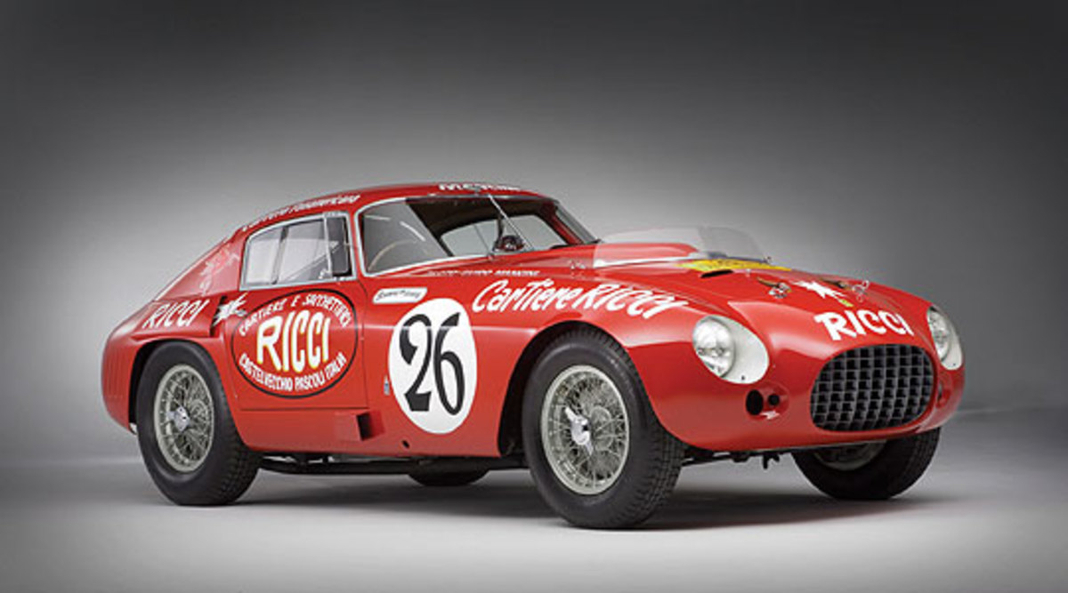 1953 Ferrari 340/375 M Berlinetta Competizione - $5.8 million