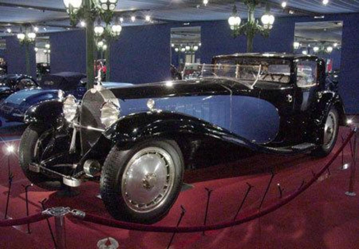 1931 Bugatti Royale Kellner Coupe - $9.7 million